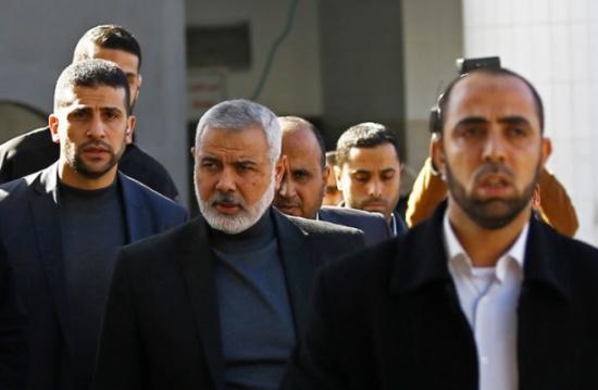 انتخاب إسماعيل هنية رئيسا للمكتب السياسي لحركة حماس