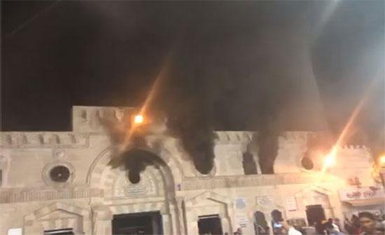 بعد التوجيهات الملكية..العيسوي يتفقد المسجد الحسيني