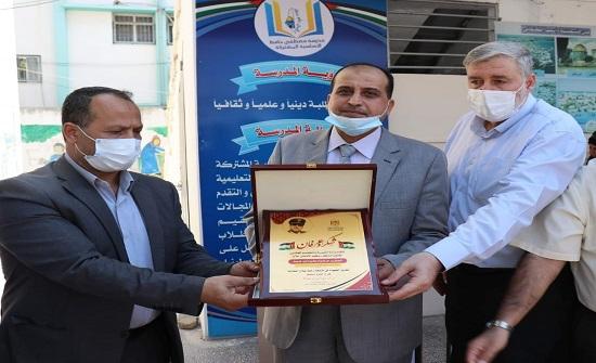 تكريم المستشفى الميداني الأردني في قطاع غزة