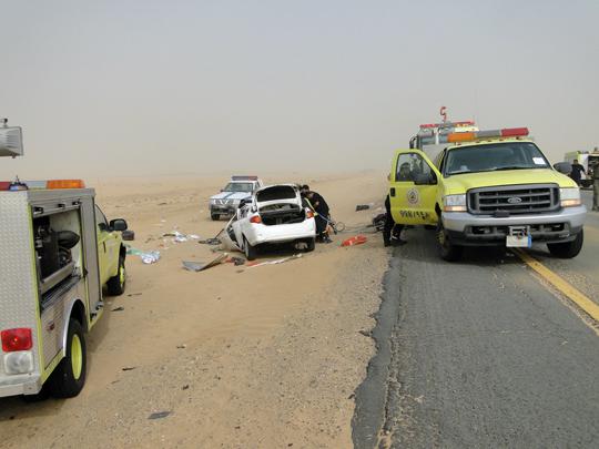 وفاة أردني بحادث في السعودية