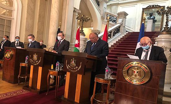 الصفدي يؤكد ضرورة ايجاد افق سياسي لإعادة اطلاق المفاوضات