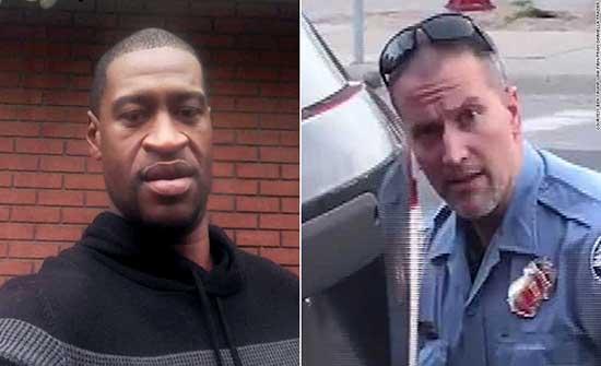 امريكا : ادانة الضابط المتهم فى قضية جورج فلويد بتهمة القتل