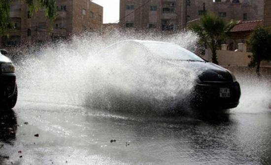 الأردن على موعد مع الأمطار بداية الأسبوع