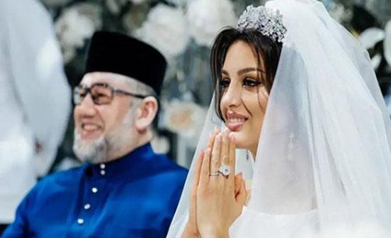 طليقة ملك ماليزيا السابق تبيع خاتم زواجها لسداد فواتير طبية!