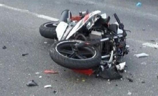 اصابتان إثر تدهور دراجة نارية في عمان