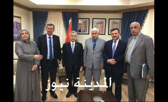 صور : لقاء جمعية الصداقة البرلمانية الأردنية  ودول اسيا مع سفير اليابان