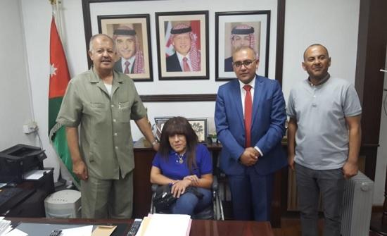 أمين عمان يفتتح ميدان الرمي استعدادا لدورة غرب آسيا البارالمبية