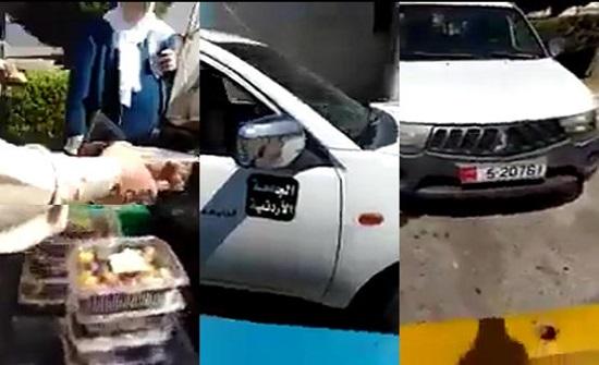 """فيديو : """"بكب"""" حكومي يبيع تين وتمر في عمان"""