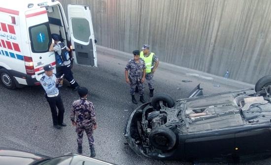 تدهور مركبة في عمان