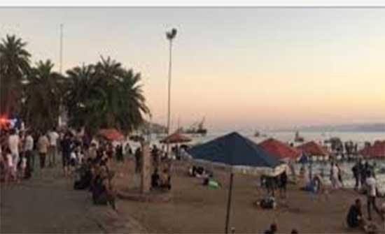 مديرية اوقاف العقبة تنظم حملة نظافة لشاطىء الغندور