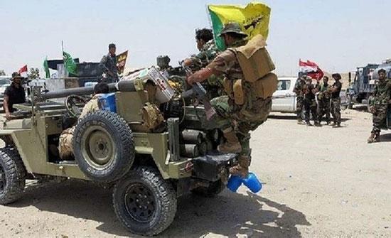 """العراق.. قتيلان من """"الحشد الشعبي"""" في قصف لمخازن عتاد في قضاء القائم"""