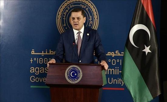 """بصفته """"وزيرا للدفاع""""..الدبيبة يؤكد ضرورة تنظيم الجيش الليبي"""
