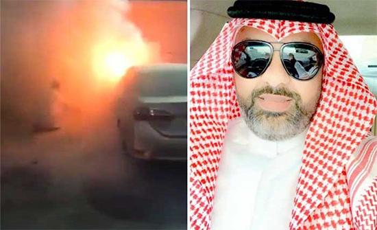 بالفيديو: معلم يخمد حريق سيارة أمام مدرسة في السعودية