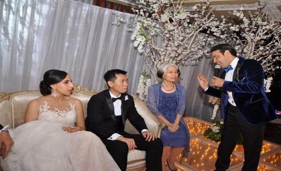 """سعد الصغير في حفل زفاف صيني: """"المهم إنهم فهموني"""""""