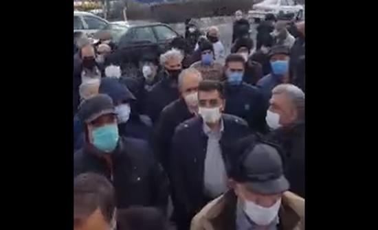 """احتجاجات للمتقاعدين في إيران """"يا ويلكم من كل هذا الظلم"""" .. بالفيديو"""