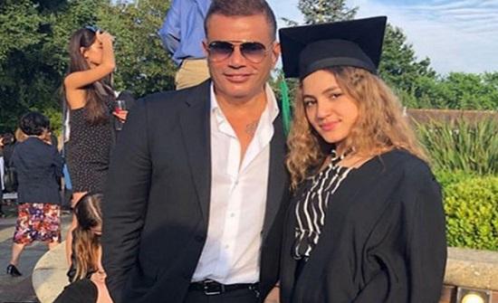 شاهد.. كنزي ابنة عمرو دياب تستعرض مهاراتها في الرقص!