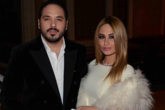 فيديو عفوي يجمع رامي عياش وزوجته داليدا (فيديو)