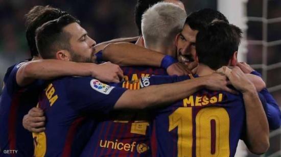 برشلونة يسحق بيتيس بمهرجان أهداف