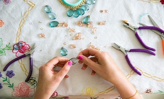 دورة تدريبية في الأعمال اليدوية بإربد