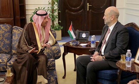 رئيس الوزراء يستقبل السفير السعودي