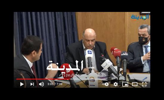 فيديو : حوار ساخن بين المومني والناصر بعد احالة 1200 معلم من حملة الدبلوم .. شاهد