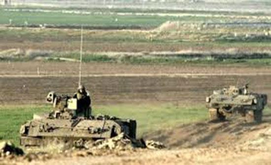 قوات الاحتلال تتوغل شرق غزة