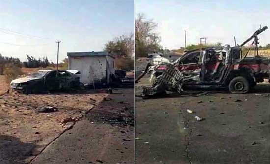 السفارة الأمريكية تدين تفجير سبها الإرهابي في ليبيا