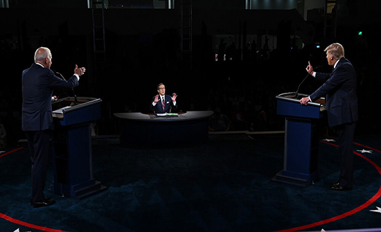 الرئيس الإيراني يعلق لأول مرة على مناظرة ترامب وبايدن