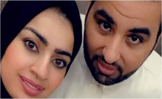 بالفيديو- أميرة الناصر تستفز المتابعين بتقبيلها قدم زوجها