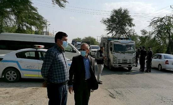 لجنة أمنية لضبط المركبات المخالفة لتعليمات الحظر بدير علا