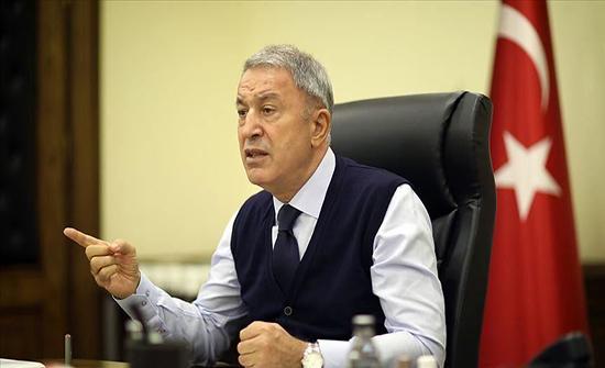 وزير الدفاع التركي: أرمينيا أصيبت بخيبة كبيرة !