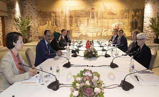 قالن وشيرمان يبحثان ترتيبات لقاء أردوغان وبايدن في بروكسل
