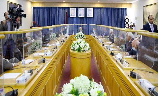 لجنة فلسطين في الأعيان تلتقي وزير الأوقاف