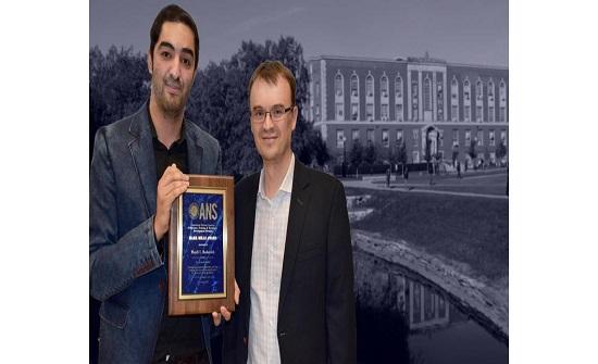 أردني يفوز بأفضل رسالة دكتوراة في حقل الهندسة والعلوم والنوويَّة بامريكا