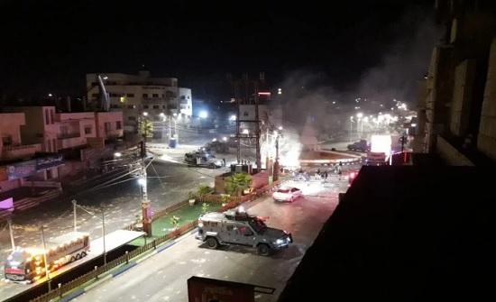 الرمثا   : اعتصام للافراج عن الموقوفين