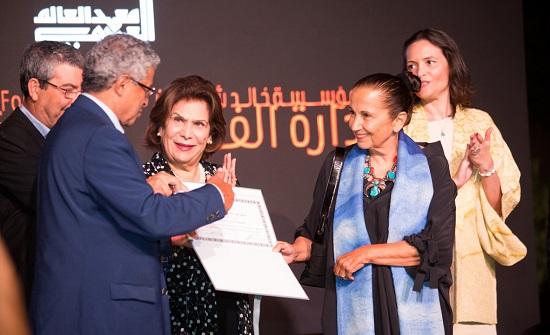 معهد العالم العربي يكرم الفنانة شومان