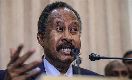 رئيس وزراء السودان يصل جوبا