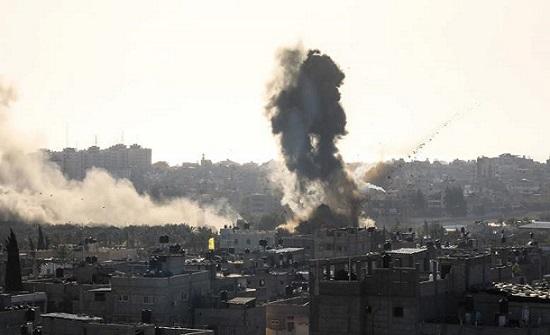 الحريري: العدوان الاسرائيلي خرق صريح للقرار الدولي 1701