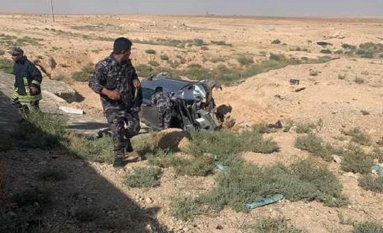وفاة شقيقين إثرحادث تدهور على الطريق الصحراوي