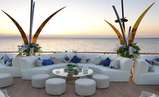 عربيات : نجحنا في استقطاب سياح لإقامة حفلات زفافهم في البحر الميت