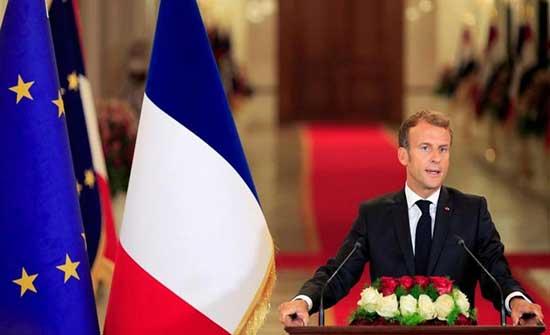 ماكرون: فرنسا وبريطانيا ستقترحان على الأمم المتحدة إقامة منطقة آمنة في كابول