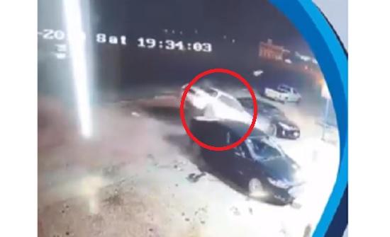 مأدبا : حادث تصادم بسبب انشغال السائق بالهاتف المحمول (فيديو)
