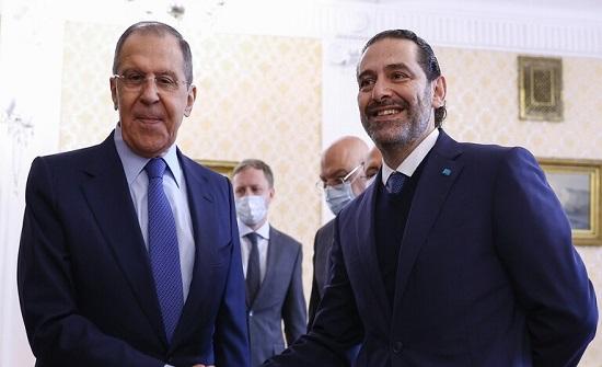 الحريري في موسكو.. روسيا قلقة من الوضع السياسي في لبنان