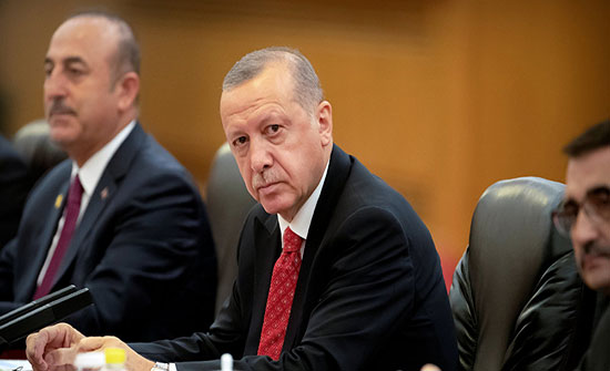 """أردوغان يهدد بـ""""رد حازم"""" على الطامعين في جزيرة قبرص وثروات المنطقة"""