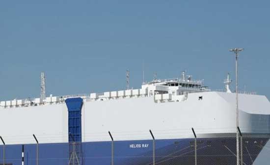 """موقع """"والا"""" العبري: الحرس الثوري الإيراني مسؤول عن الهجوم على السفينة في خليج عمان"""
