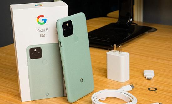 الكشف عن تصميم ومواصفات هاتف Google Pixel 5a