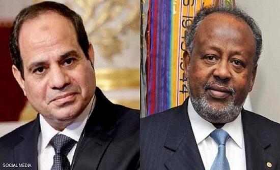 مصر وجيبوتي.. توافق بشأن سد النهضة ومكافحة الإرهاب