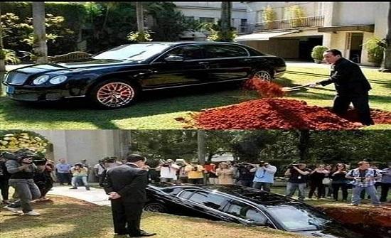 هل دفن رجل غني سيارته ليقودها بعد موته - فيديو