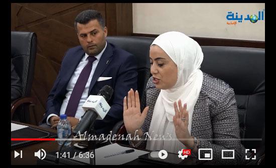 فيديو وصور : كيف تعلمت بني مصطفى الوقوف أمام الكاميرا ..  ورشة تمكين المرأة اعلاميا وملتقى البرلمانيات