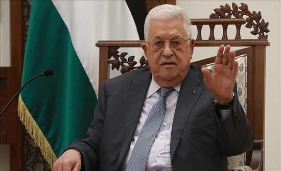 عباس يبحث مع رئيس المخابرات المصرية جهود التهدئة وإعمار غزة